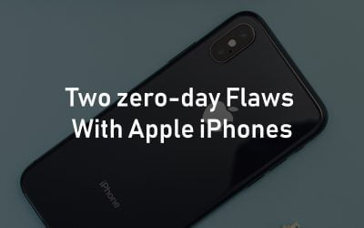 Two zero-day Flaws With Apple iPhones and iPads Let Attackers to Hack Devices Just by Sending Emails