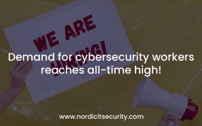 Demand for cybersecurity workers reaches all-time high!